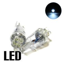 2x Fits Nissan Micra K11 1.0 Xenon White LED Licence Number Plate Light Bulbs