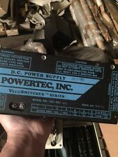 POWERTEC INC 19C-D01-ABC DC power supply Used/Tested