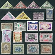 Liberia -  Nice Selection of Older Stamps........Q26..........# 6814