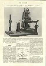 1915 Drilling Tatting Milling Machine Asquith Halifax Electromagnetic Separator