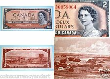 Canada 1954 -DEVILS FACE  A/B  $2 - Bank Of  Canada