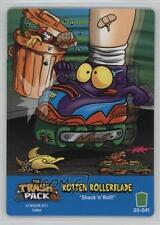2011 The Trash Pack Trading Card Game Base #041 Rotten Rollerblade Gaming 1t5