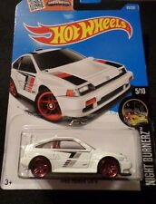HW HOT WHEELS 2016 HW NIGHTBURNERS #5/10 1985 HONDA CR-X HOTWHEELS WHITE VHTF