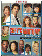Grey's Anatomy - The Complete Third Season DVD, 2007, 7-Disc Set, Seriously...