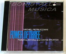 MICHEL PETRUCCIANI - POWER OF THREE - CD Nuovo Unplayed