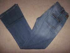 7 For All Mankind Mid Rise Flare Leg Jeans! Sz 28 (30.5 X 32)!