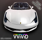 "Matte White VViViD MW5M01 10ftx5ft 120""x60"" Car Vinyl Wrap Air Release Tech"