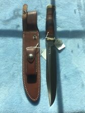 """Randall Model 1-8"""" Stainless Blade Leather Handle"""