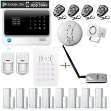 G90B WIFI GSM GPRS Wireless Home House Fire alarm system IOS Android APP Control