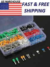 Insulated Cord End Terminal Wire Awg Ferrules Bootlace Cooper 600Pcs Kit Set