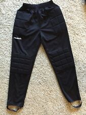 Reusch Soccer Goalie Goalkeeper Padded Pants Size AM Black RCP