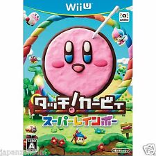 Touch! Kirby Super Rainbow NINTENDO WII U JAPANESE NEW JAPANZON