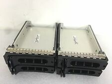 "Lot Of 4 Dell 3.5"" SCSI Server Hard Drive Tray Caddy 9D988 WITH MOUNTING SCREWS"