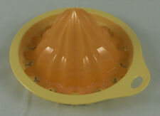Tupperware P 17 CombiPlus Zitruswunder Zitruspresse Reibe Gelb / Orange Neu OVP