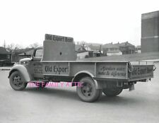 OLD EXPORT BEER TRUCK 8.5 X 11 B&W PHOTO CHAS E SCHULTZ DISTRIBUTOR FROSTBURG MD