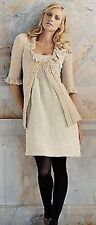 Anthropologie rare Belle Ballroom Dress Left Of Center NWT Size 12