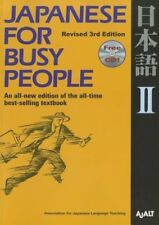 Japanese for Busy People 2 [With CD (Audio)] (Paperback), Ajalt, 9781568363868