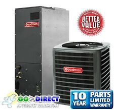 Goodman 3 Ton 14 SEER Heat Pump Split System GSZ140361+ARUF37D14 New Model!