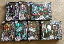 New Monster High Frights Camera Action Hauntlywood 5 Dolls~ 2 Play Set Bundle