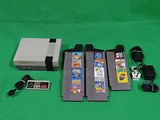 Nintendo NES Console & 11 Games Bundle Super Mario Bros ....