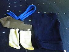GI JOE / ACTION JOE / ACTION MAN/ Chaussette, écharpe,ceinture, pull sans manche