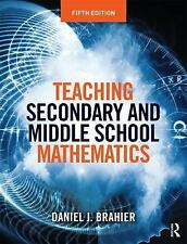TEACHING SECONDARY AND MIDDLE SCHOOL MATHEMATICS - NEW PAPERBACK BOOK