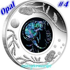 2013 Australia Opal Series #4 Pygmy Possum 1oz Silver Proof  Coin COA & Box !!!!