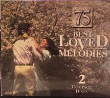 75 BEST LOVED MELODIES - 2-CD SET - LIKE NEW - G326