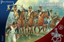 NAPOLEONIC BRITISH LIGHT DRAGOONS 1808-1815 -PERRY MINIATURES - NAPOLEONICS