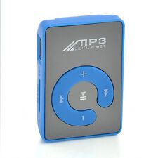 USB Digital Mp3 Music Player Mini Hot Mirror Clip Support Up 8GB SD TF Card New