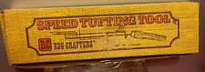 Vintage RUG CRAFTERS RC SPEED TUFTING TOOL In Original Box