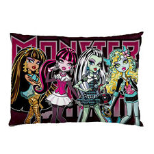 New Monster High for Pillow Case One Side Printed Free Shipping