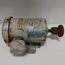 GENERAL ELECTRIC 1725RPM 1HP ELECTRIC MOTOR INCOMPLETE PART NUMBER 48WG8001