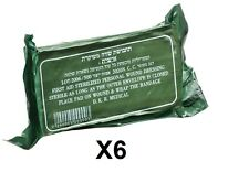 Lot 6 Israeli Army Bandage Field Dressing Emergency IDF IFAK Trauma Vacuum Seal