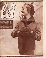 rivista LEI ANNO 1952 NUMERO 46