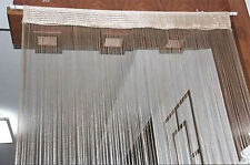 Decor Vanilla String Curtains Patio Net Fringe Door Fly Screen Windows Divider