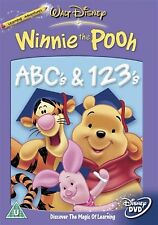 WINNIE THE POOH ABCs and 123s Alphabet Numbers Learning for Kids NEW UK R2 DVD