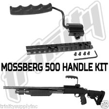 Mossberg 500 Shotgun Tactical Weaver Rail Scope with foldable handle kit