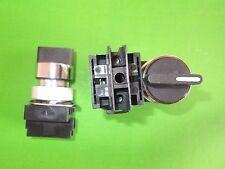 Interruptor Selector 3 Posiciones De Mango Corto 22.5mm ER501200 necesita C/Block X 1 ONO