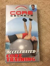 VHS: GUNNAR PETERSON'S CORE SECRETS ACCELERATED CORE TRAINING NEW SEALED 9A