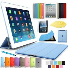 ★Apple Ultra-slim iPad 2 & 3 & 4 Schutz Hülle Smart Cover Tasche Case Etui 9-F★