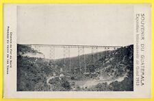 cpa Souvenir du GUATEMALA 1913 Chemin de Fer du Nord RAVIN Puente de LAS VACAS