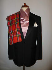 MENS M & S BLACK EVENING/ DINNER JACKET - - SIZE UK 40R   BRITISH MADE