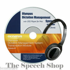 Olympus (ODMS) Dictation Management System R6 - Transcription Module & License