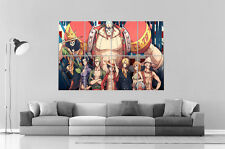 One Piece Manga ANIME  Wall Art Poster Grand format A0 Large Print