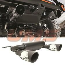 Jeep JK Wrangler JK Unlimited Rubicon 07-16 Cat-Back Dual Exhaust Muffler System