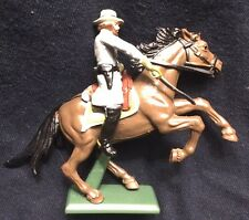 BRITAINS, DEETAIL, CIVIL WAR, CONFEDERATE, SOLDIER ON HORSE WITH SWORD