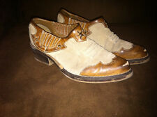 Kenneth Cole Reaction Girls Tan Brown Leather Western Shoe Boots Jeweled Size 13