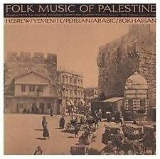 Folk Music of Palestine by Various Artists (CD, May-2012, Smithsonian Records)