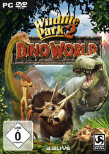 Wildlife Park 2 Dino World (PC) DEUTSCH mit Handbuch